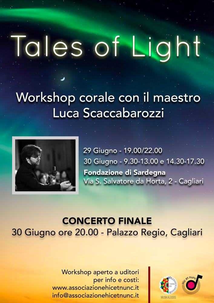 Tales of Light – Workshop corale con il M° Luca Scaccabarozzi